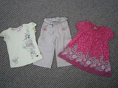 Girls Piping Hot Gorgeous 3 pce Set - Pants and Top x2 Size 6