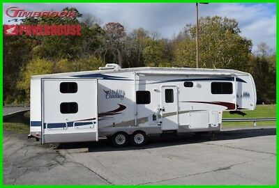 2007 Forest River CAF33TBHLE LE 5th Wheel Camper Cardinal