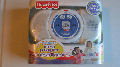 Fp3 Player Speaker Kid Tough Fisher Price Boombox Boom Box