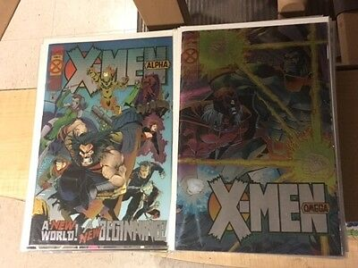 X-Men AGE OF APOCALYPSE 1995 crossover complete set Marvel Comics big lot!!