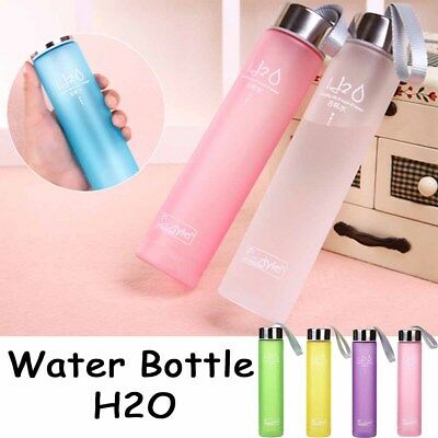 Bottle Sports Fashion Cup 5 Colors Travel Portable Camping  Water Cups Plastic