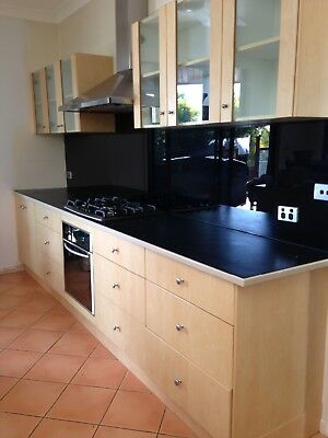 Large second hand kitchen with applances
