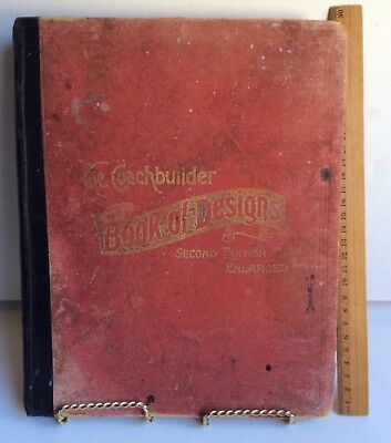 The Coachbuilder Book of Designs ORIGINAL 1909 2nd Ed Antiquarian Collectable