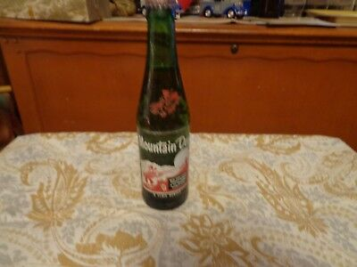 Vintage Mountain Dew HILLBILLY 8 oz  Bottle It'll Tickle Yore Innards - Full