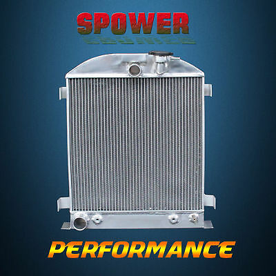 3-Row/CORE Aluminum Radiator For Ford Chopped Ford Engine AT MT 1932 62mm