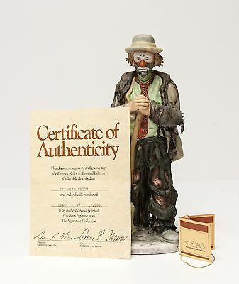 Emmett Kelly Jr 'sweeping Up' Limited Edition - Signed