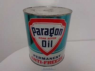 Paragon Oil Company Of New York One Gallon Anti-Freeze Can Texaco