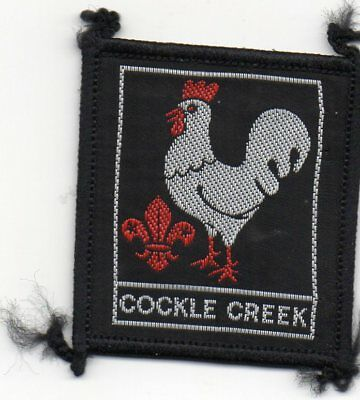 N S W  Scout Badge      Cockle Creek