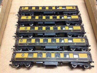Oo Scale Hornby Pullman Passenger Cars X 5
