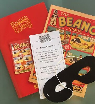 Beano Classic Unique 2003 Reproduction Of The First Edition Of Britains Comic