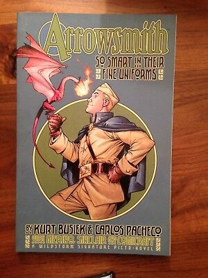 Arrowsmith So Smart In Their Fine Uniforms First Print Busiek Pacheco FN