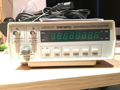 Velleman Dvm13Mfc2 - Frequency Counter, 2.4Ghz