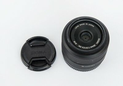 Sigma 30mm F2.8 EX DN for sony E mount