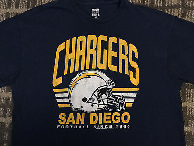 6143d3b8e JUNIORS NFL FOOTBALL Junk Food San Diego Chargers Blueberry Blue V ...