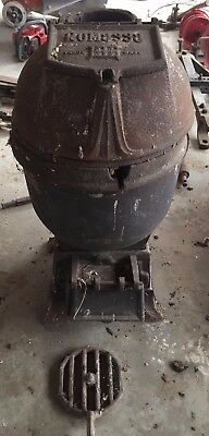 Romesse Cast Iron Pot Bellied Wood Stove. Ideal for Barge Caravan Boat