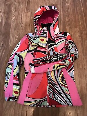 Ladies PUCCI for Rossignol Ski Jacket Size Small (10)