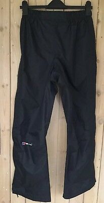 Berghaus AQ2 Waterproof Trousers With Extra Venting Size 10