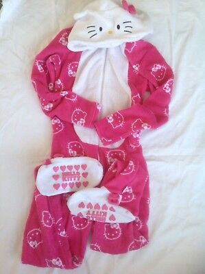 GIRLS HELLO KITTY ONESIE/ALL-IN-ONE AGE 13 (not gerber)