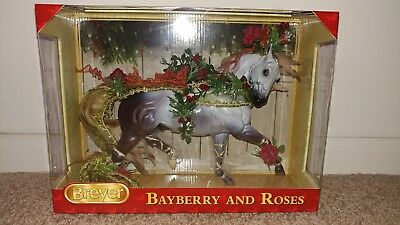 BREYER Bayberry and Roses #700117 Esprit mold 2014 Holiday Horse NIB