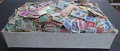 Old Box Full Of Stamps - All Periods M/u - Est 10/12,000 + Worldwide -Much Early