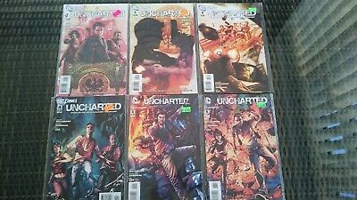 Uncharted Comics 1 - 6 (Full set). Nathan Drake. Near Mint