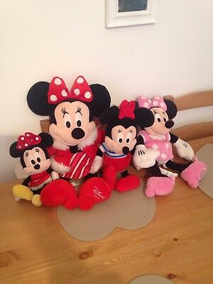 disney minnie mouse teddy collection