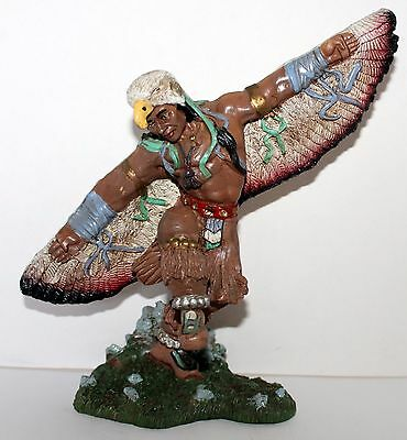 Native American Eagle Dancer Figurine Old West Visions Limited Edition 9x9""