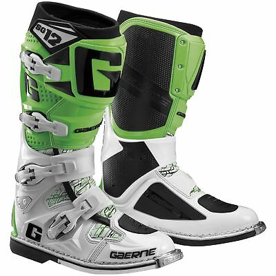 Gaerne SG-12 MX Offroad Boots Green/Black