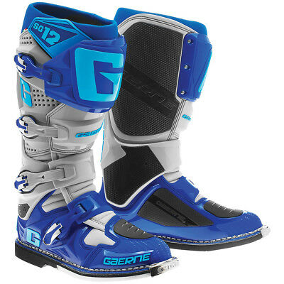 Gaerne SG-12 2016 MX/Offroad Boots Gray/Blue