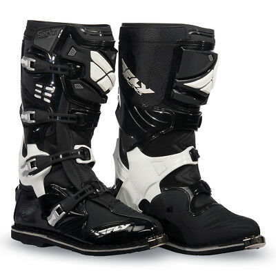 FLY Racing Sector MX Offroad Boots Black
