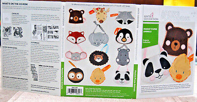 Anita Goodesign Machine Embroidery Software - Pawket Purse Animals Collection