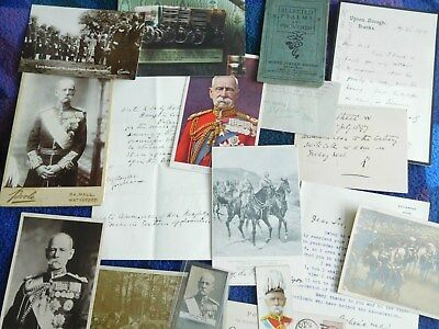FM Lord Roberts VC Large collection of autographs and photos