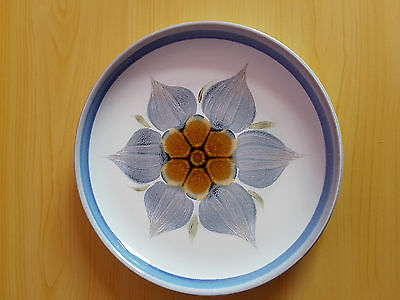 Chatsworth By Denby England Hand-Painted Plate - Never Used/brand New
