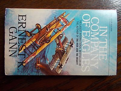 """in The Company Of Eagles"" By Ernest.k.gann 223 Page Paperback War Fiction"