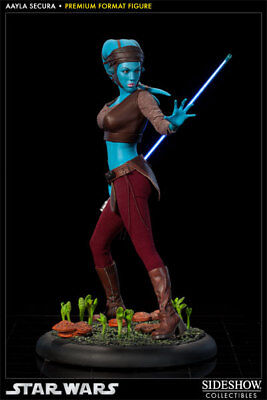 Aayla Secura Premium Format Figure Star Wars Sideshow Collectibles