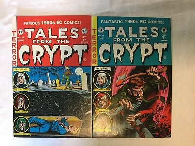 EC Comics TALES FROM THE CRYPT #12 & #22 Crypt Keeper, Old Witch, Vault Keeper