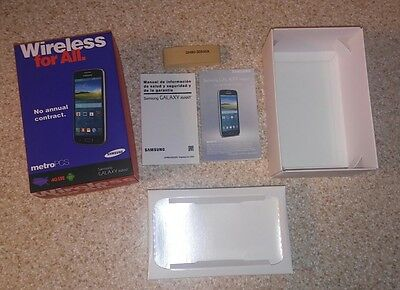 Samsung Galaxy Avant - Metro PCS - EMPTY BOX Only -  2 Manuals - No Accessories