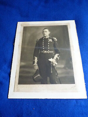Interesting Victorian ? naval / Royal Navy photograph of an officer – PK/41D