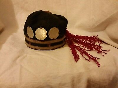 Beautiful traditional style hat, unknown origin....but super cool!