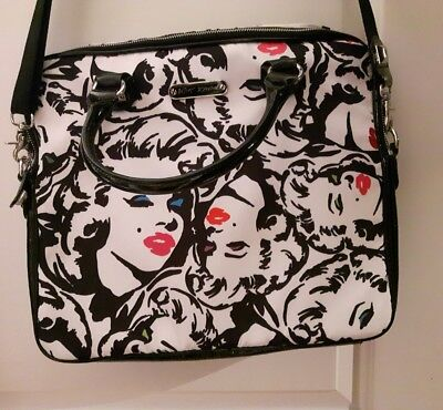 Betsey Johnson Marilyn Monroe laptop bag