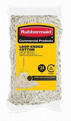 Rubbermaid #24 Loop End Cotton Mop Refill 1785060