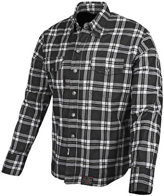 Speed & Strength Black 9 Mens Long Sleeve Button Up Shirt Black/White
