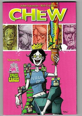 Chew Volume Six - Space Cakes tpb