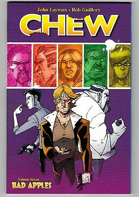 Chew Volume Seven - Bad Apples  tpb