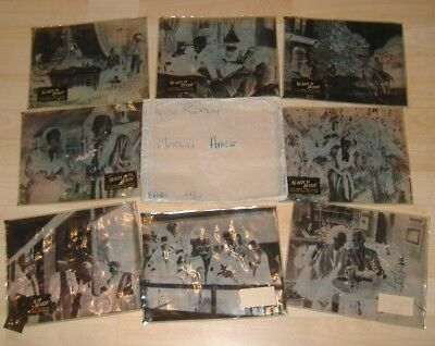 Eight Large Front Of House Negatives / Lobby Cards.March Hare By New Realm