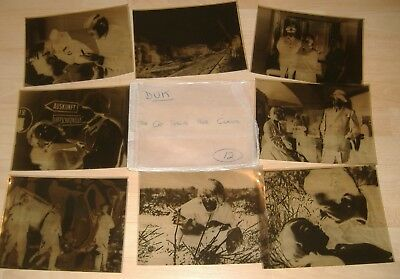 Eight Large Front Of House Negatives / Lobby Cards.The Cat Shows Her Claws