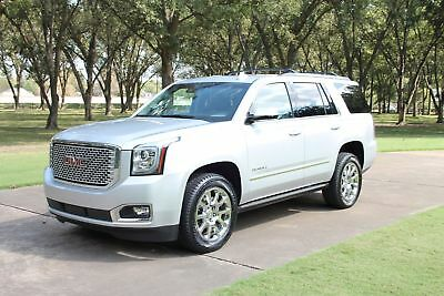 2015 GMC Yukon Denali One Owner Perfect Carfax Completely Loaded New Tires Low Miles MSRP New $72245