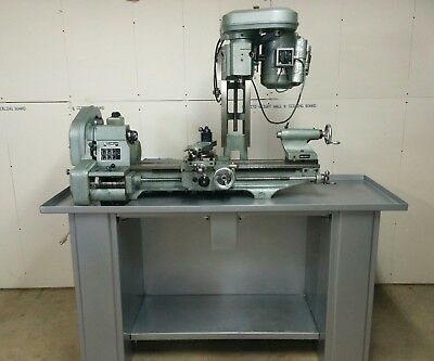 "Emco Maximat metal lathe and mill - 10"" x 24"" lathe, restored"
