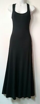 Betsey johnson alley cat Black Maxi Tank Dress Sz 7/8