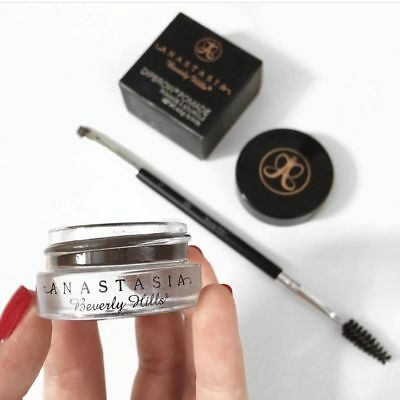 ❤️New Anastasia Beverly Hills Dipbrow Pomade With FREE New Anastasia BRUSH❤️